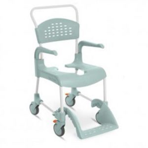 Silla de ducha y wc Cleam